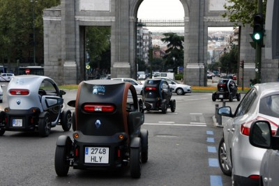 electricway carsharing madrid apr madrid