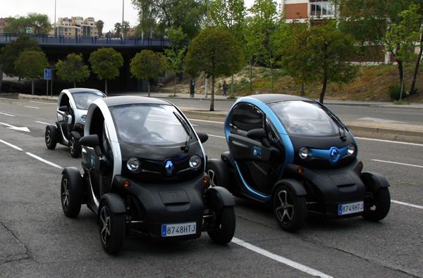 electricway carsharing madrid: prueba un Twizy